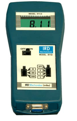 IRD811D - Digital Vibration Meter cum Spike Energy Detector with Accessories