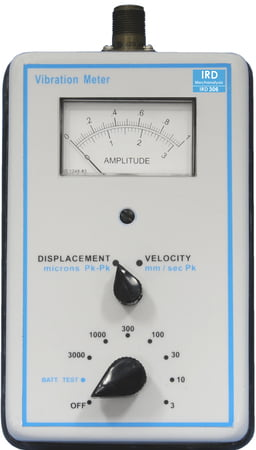 IRD306 - Analog Vibration Meter with Standard Accessories