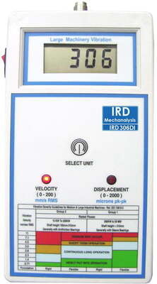 IRD306DI - Digital Vibration Meter with Standard Accessories